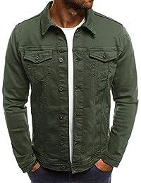 6a719bf013c70 Suchergebnis auf Amazon.de für: grüne jeansjacke - Herren: Bekleidung