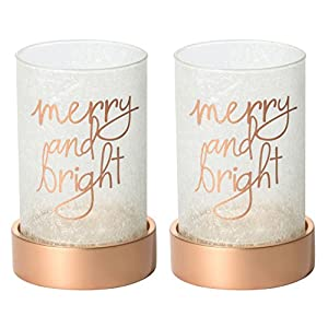 2x Offizielle Yankee Candle Zauberhafte Weihnachten Jar groß KERZENHALTER Dekoration Ornament Milchglas Festive Season Ärmel
