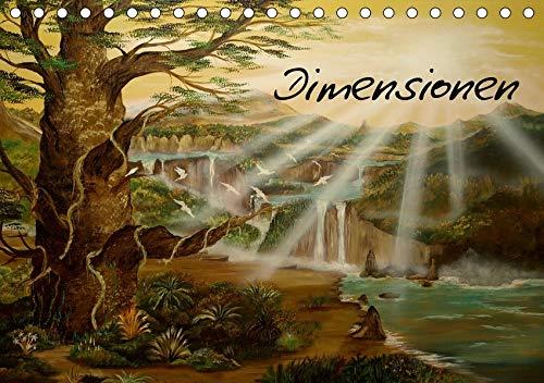 Dimensionen (Tischkalender 2020 DIN A5 quer): zwischen Zeit und Raum (Monatskalender, 14 Seiten ) (CALVENDO Kunst)