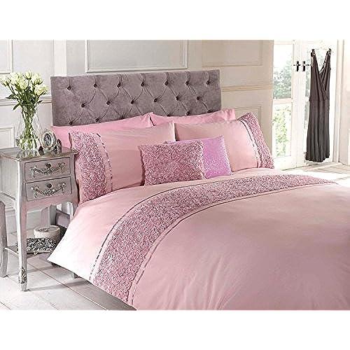 pink and grey bedding. Black Bedroom Furniture Sets. Home Design Ideas
