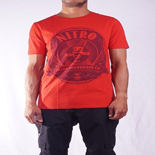 Nitro Snowboards Death Proof T Shirt, Herren, Rot, M Preisvergleich