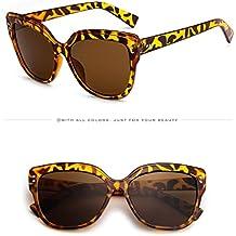 Sunday Gafas Unisex Gafas de Sol Vintage Ojo de Gato Lentes Oscuros UV400 Gafas (A