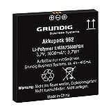 Akkupack 962 (GCM9620), Ersatzakku Für Digitale Diktiergeräte der Digta-7-Serie