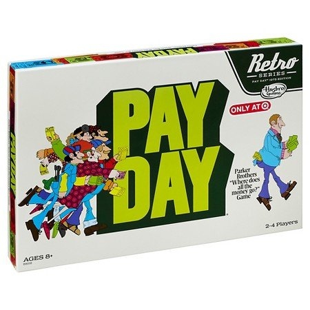 Payday Retro Series 1975 Edition Board Game by Hasbro