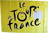 Le Tour de France Bandiera Giallo-Il Giro di Francia di Ciclismo-Collezione Ufficiale