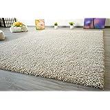 Shaggy Hochflor Teppich Funny Soft Touch Langflor in der Farbe beige GUT Siegel, Größe: 160x230 cm