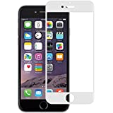 Stuffcool Mighty 2.5D Full Screen Tempered Glass Screen Protector For Apple IPhone 6 / 6s - White (Case Friendly & Edge To Edge)