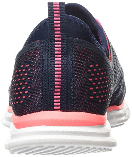 Skechers Glider Harmony, Sneakers Basses Femme Bleu - Blue (Nvcl)