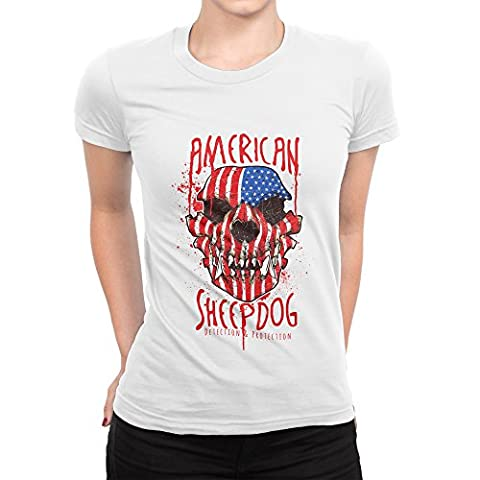 American Sheepdog Detection And Protection Femme T-shirt M