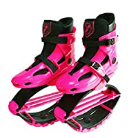 Zcoins Girls Boys Fitness Jumps Shoes Gravity Boots Kids Bounce Boot