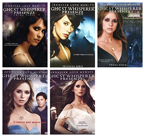 GHOST WHISPERER SERIE COMPLETA - STAGIONI DA 1 A 5 (STAGIONE FINALE) - 29 DVD - COFANETTI SINGOLI, ITALIANI, NUOVI