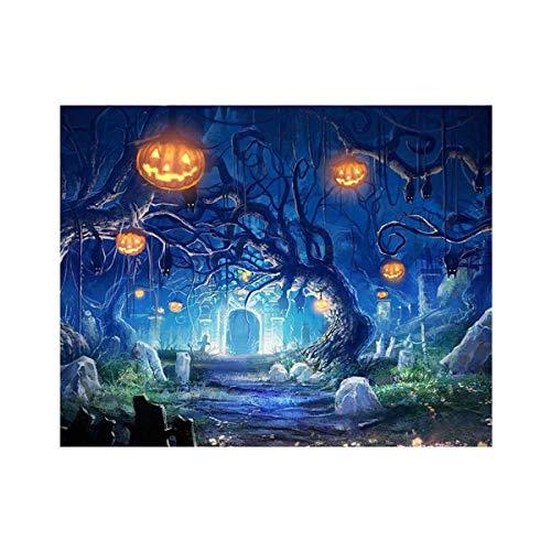 AsKong 5D Diamant-Gemälde für Zuhause, Wanddekoration, Kreuzstich-Stickerei-Kits DIY Kunst Handwerk Baum 11.8x9.8inch ()