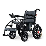 J.GH Electric Wheelchair Foldable Electric Power Wheelchairs,High Power Dual Motor,New Upgraded with More (99 lbs inluding Lithium Battery)