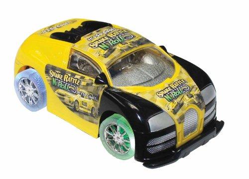 Shake Rattle n Roll Auto (gelb) Shake-sensor