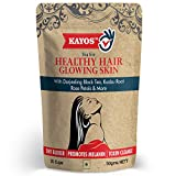 Kayos Tea for Healthy Hair Glowing Skin (with DHT Blocker) Detox Herbal Green