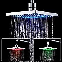 Soffione doccia a LED quadrato,Auralum® pannello doccia