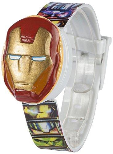 Marvel Avengers 39508 Orologio da Bambino, Plastica, Multicolore