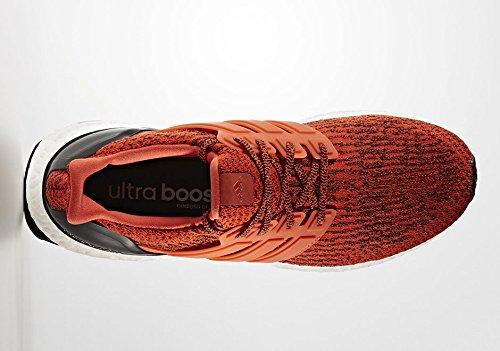 Ultra Boost Hommes - Chaussures de Course - Energie/Noir orange brique/orange brique/noir
