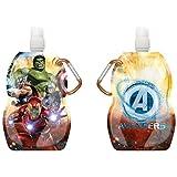 Avengers-KD-MV15370 Botella Cantimplora, Kids Euroswan KD-MV15370