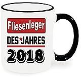 Ringbecher Schwarz Berufetasse 2018
