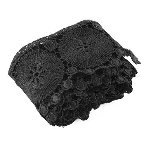 sourcingmap® Polyester Kleidung Rock Hosen bestickte DIY Fertigkeit Dekor Spitze Rand (Halloween Kostüm Nähen Diy)