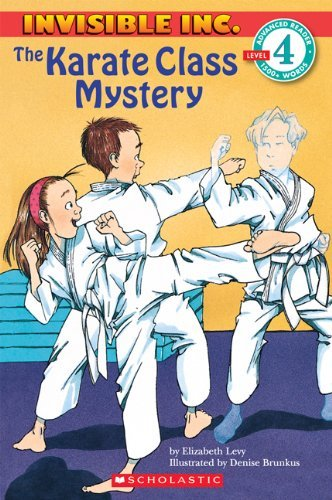 The Karate Class Mystery (Invisible Inc.) by Elizabeth Levy (1-Sep-1996) Paperback