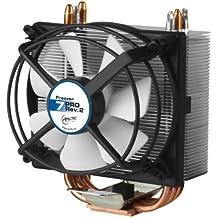 ARCTIC Freezer 7 Rev. 2 - Refrigerador del procesador con ventilador PMW de 92 mm - Refrigerador de la CPU para AMD: FM2(+) / FM1 / AM3 / AM3+ / AM2 / AMD 2+ / 939 / 754 Intel: 1366 / 1150 (Haswell) / 1155 / 1156 / 775 hasta 150 vatios de rendimiento térmico