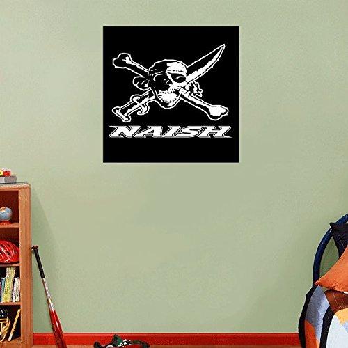 Naish Kites Kiteboarding Sport Black Logo Home Decor Art Wall Vinyl Sticker 55 x 55 cm