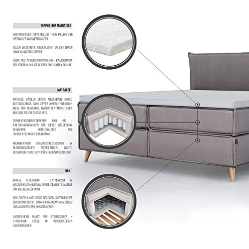 boxspringbett wildeiche massiv