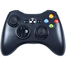 Xbox 360 Wireless Controller,Stoga STB02 nuovo Pad remoto Wireless Controller di gioco per Microsoft Xbox 360 PC Windows 7 XP Whit Joypad-Nero