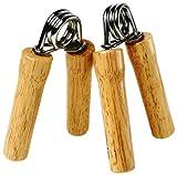 Everlast Erwachsene Boxartikel Ev2429Wd Xtra Strgth Wood H/Grips-Pair, Brown, one Size