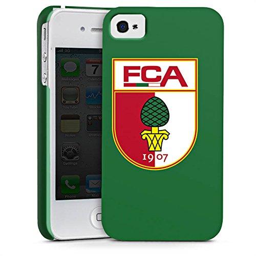 Apple iPhone X Silikon Hülle Case Schutzhülle FC Augsburg Fanartikel Fußball Premium Case glänzend