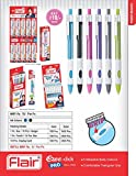 #5: Flair Ezee Click Pro Ball Pen - Blue Ink (Pack Of 20 Pc)