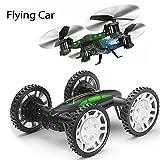 DIY RC Drohne Quadrocopter Fahrad ANKOUJA Buggy mit Kamera live Übertragung HD Wifi Handy Fernbedienung 360°Flip RC Toy LED Beleuchtung 2x Akku Kopflos Modus