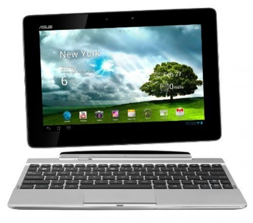 Asus Transformer Pad TF300T 25,7 cm (10,1 Zoll) Convertible Tablet-PC (NVIDIA Tegra 3, 1,2GHz, 1GB RAM, 16GB HDD, NVIDIA 12 GeForce, Touchscreen, Android OS) inkl. Keydock weiß (Tegra 3 Nvidia)