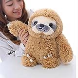 Winsterch-E Faultier Stofftiere, Plüsch Faultier, Kuscheltier Sloth,Die Geschenke An Die Kinder - Spielzeug und Geschenke(Braun,40cm )