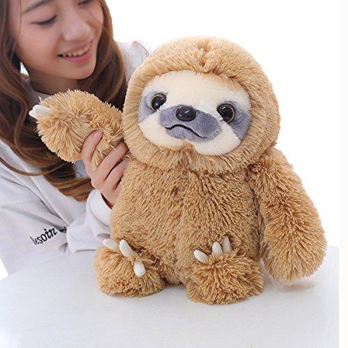 Winsterch-E Faultier Stofftiere, Plüsch Faultier, Kuscheltier Sloth,Die Geschenke An Die Kinder – Spielzeug und Geschenke(Braun,40cm )