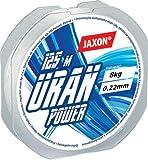 Jaxon Angelschnur Uran Power 125m / 0,12mm-0,45mm Spule Monofile (0,22mm / 8kg)