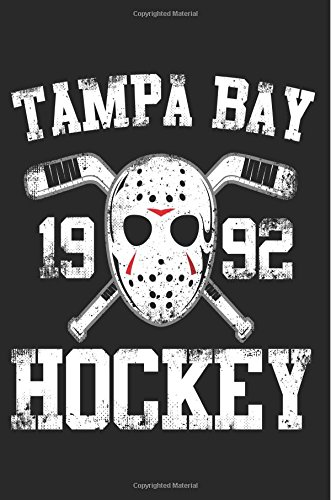 Tampa Bay 1992 Hockey: Hockey Journal Notebook Lined V2 por My Lined Journal