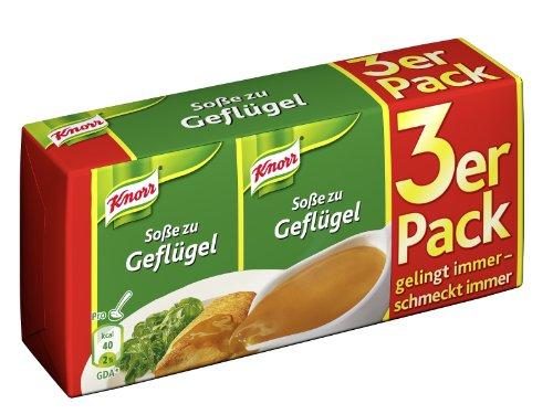 Knorr Geflügel Soße 3 x 250 ml