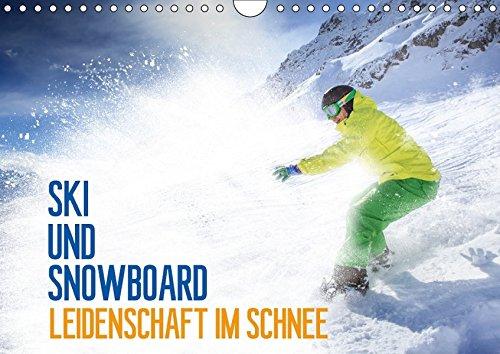 Ski und Snowboard - Leidenschaft im Schnee (Wandkalender 2018 DIN A4 quer): Ein ganzes Jahr lang das Hochgefühl des Wintersports (Geburtstagskalender, ... [Kalender] [Apr 07, 2017] Thoermer, Val