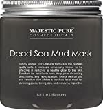 Dead Sea Mud Mask from Majestic Pure, Spa's Premium Quality Facial Cleanser, 8.8 Oz