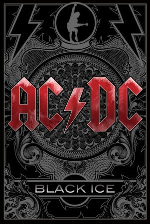 "1art1 42965 Poster ""AC/DC Black Ice"" 91x61 cm"