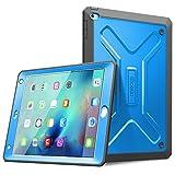 iPad Mini 4 Hülle - Poetic [Revolution Series] - [Heavy Duty] [Dual Layer] Complete Protection Hybridtasche mit integrierter Displayschutzfolie für iPad Mini 4 (2015) Blau (3 Jahre Herstellergarantie von Poetic)