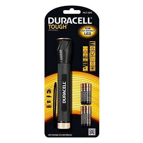 Preisvergleich Produktbild Duracell Multi Pro MLT20Cschwarz Taschenlampe SB, inkl. 6AAA Batterien