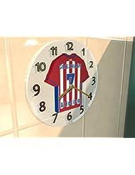 ANTOINE GRIEZMANN 7 - CLUB ATLÉTICO DE MADRID FC HORLOGE MURALE - EDITION LIMITEE LES LEGENDES DU FOOTBALL