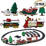 Con le sue carrozze che trasportano Babbo Natale e i suoi trasportatori che trasportano alberi di Natale e pupazzi di neve mentre si aggirano per i binari inclusi nel set, il nostro treno realizzerà i sogni di ogni bambino