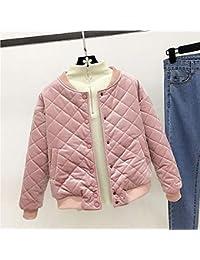 ec268200614aea YSFU Damen Mantel Damen Jacke Mantel Top Herbst Und Winter Dicke Kragen  Jacke Baumwolle Kleine Student Kurze Jacke Weibliche…
