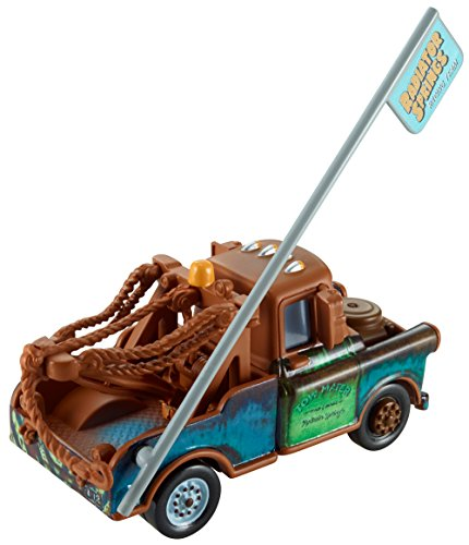 Disney Pixar Cars Mater with Sign (95 Pit Crew Collection Series, # 4 of 8)