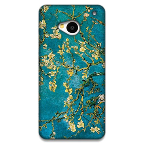 The Racoon Lean printed designer hard back mobile phone case cover for HTC One (M7). (Almond Blo)  available at amazon for Rs.99